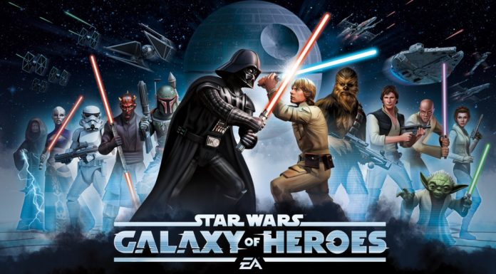 Star Wars Galaxy of Heroes monthly login characters