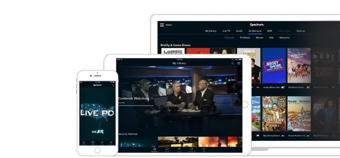 Spectrum TV app on Apple TV