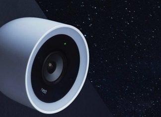 Google Nest home security camera