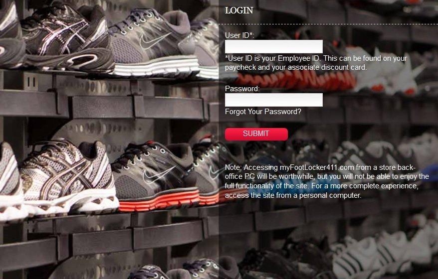 myFootLocker411.com website